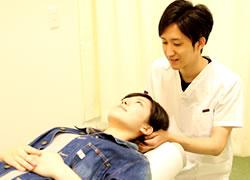 鳴門市鳴門坂口鍼灸整骨院:交通事故での頭痛治療の写真